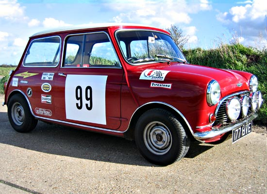 Restored Privateer Rally Cooper S
